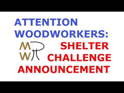 Shelter Challenge Announcement - Manhattan Wood Project