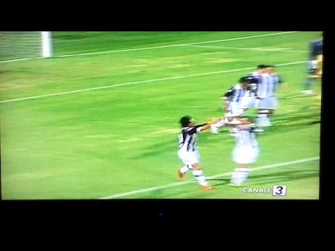 Giannetti Niccolò goal siena 1-0 Lazio