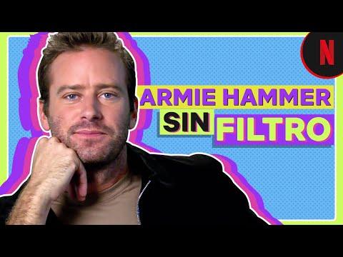 Armie Hammer sin filtro | Rebeca
