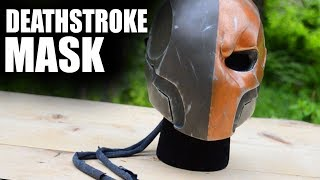 Custom Painted Deathstroke Mask!