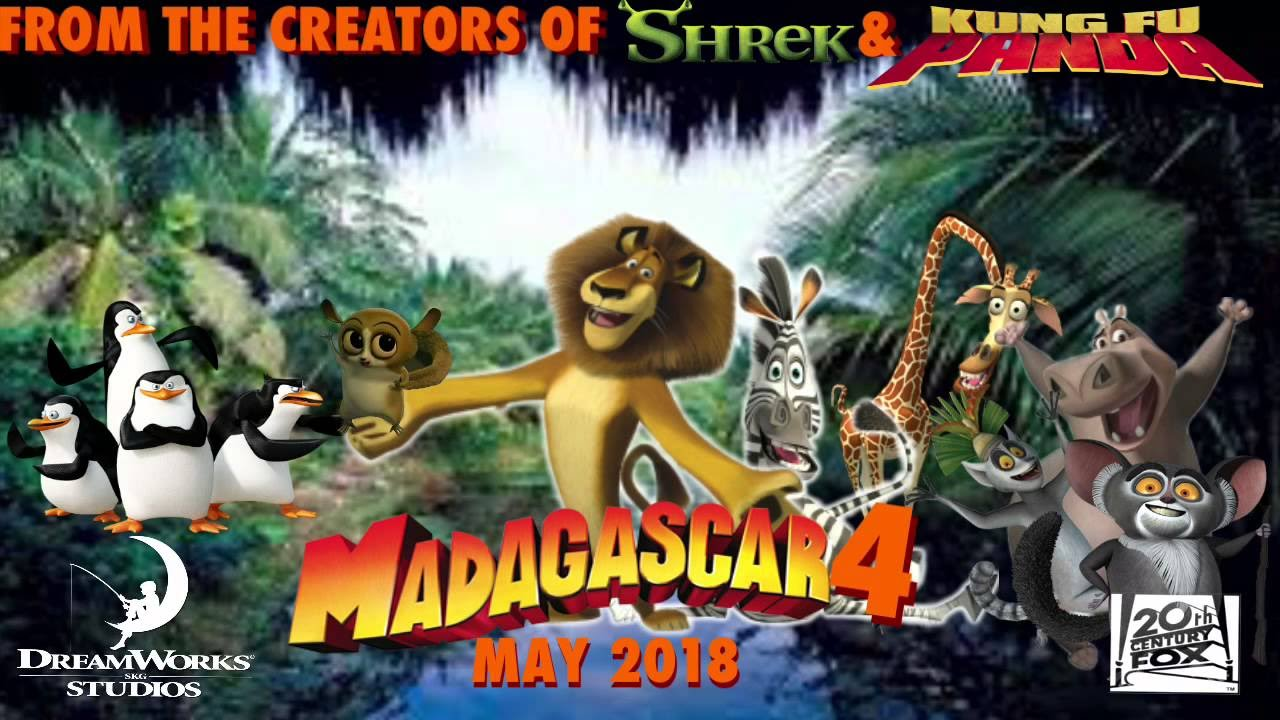 Madagascar 4 Official Trailer - 2018 / Мадагаскар 4 Трейлер - 2018