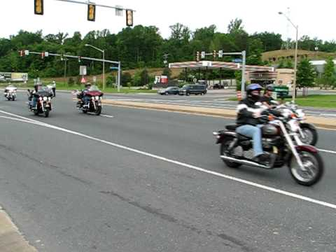 Rolling Thunder 2009 - Route 1 in VA