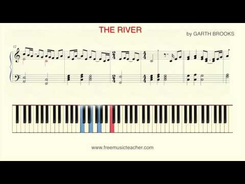 The River piano chords - Garth Brooks - Khmer Chords