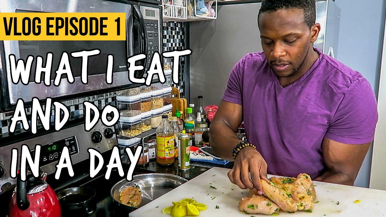 What do men eat