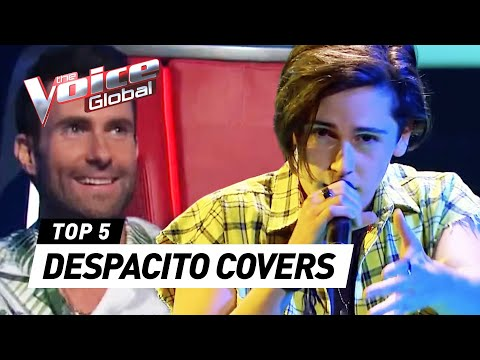 BEST DESPACITO covers in The Voice  The Voice Global