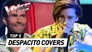 BEST DESPACITO covers in The Voice | The Voice Global thumbnail