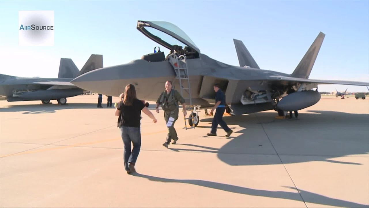 Download F-22 Raptors - 27th Fighter Squadron Returns to Langley
