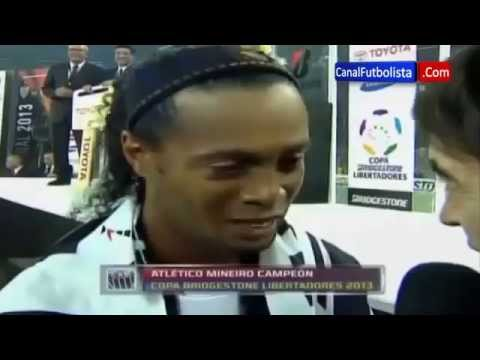 Declaraciones Ronaldinho Atlético Mineiro Campeón Copa Libertadores 2013