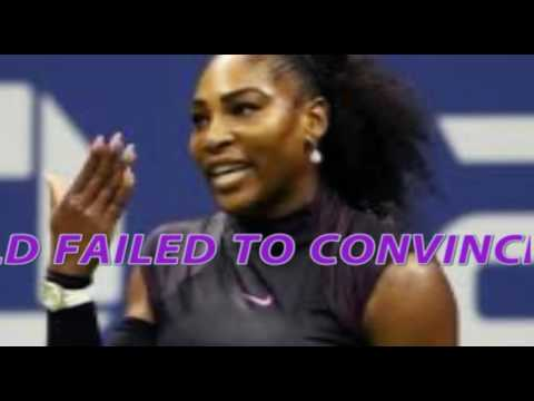 Serena stunned in windy Auckland