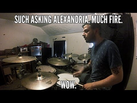 SallyDrumz - Asking Alexandria - Into The Fire Drum Cover