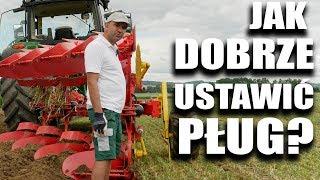 Jak prawidłowo ustawić pług obrotowy? | FARMER.PL