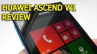 Huawei Ascend W1 Review (Windows Phone 8) - GSMDome.com