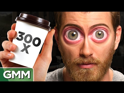 What Happens When You Drink 300 Cups of Coffee?