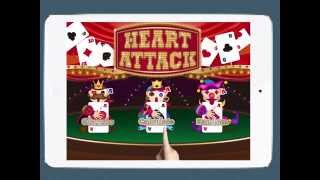 Heart Attack HD (Poker Multiplayer Game) Demo