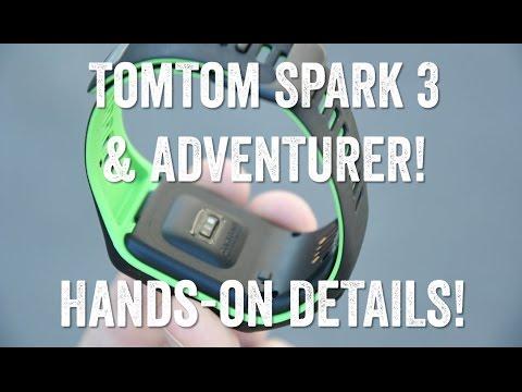 Hands-on! TOMTOM SPARK 3 (Runner 3) and ADVENTURER