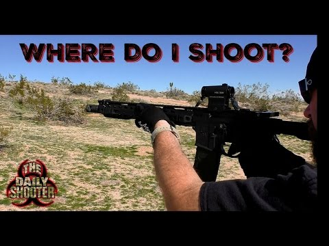 Sick Of The Range? Where to Shoot!