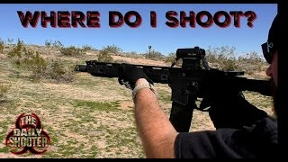 Sick Of The Range? Where to Shoot!
