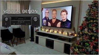 Receiver Denon AVR-S510BT 5.2