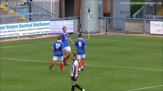 Dorchester Town FC v Portsmouth FC Academy | 18/07/15 | Highlights