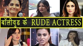 Gambar cover Top 10 Rudest and Arrogant Actresses in Bollywood