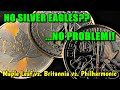 What's the best bullion alternative when American Silver Eagles sell out??