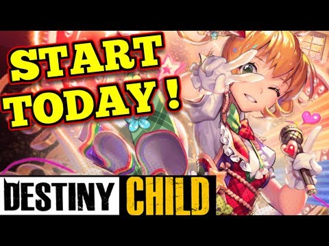 7 FREE MAXED OUT UNITS!!  : Destiny Child