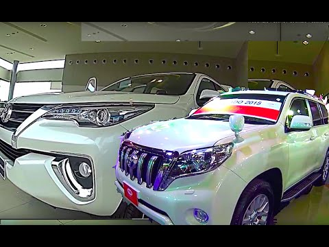 New Toyota Fortuner 2015-2016 VS new Toyota Land Cruiser Pra