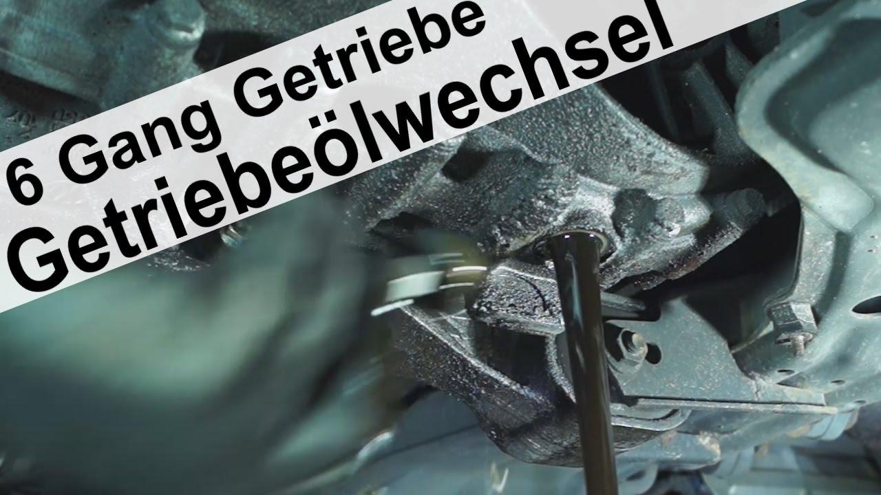 Getriebe 246 Lwechsel Am 6 Gang Schaltgetriebe Seat Alhambra