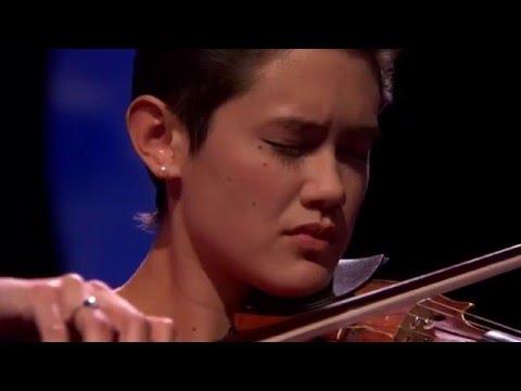 Stephanie Childress performs Après un rêve op 7  Fauré for BBC Young Musician 2016 Strings Cate