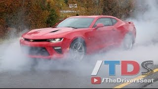 2016 Chevy Camaro Burnout & Review - Find New Roads