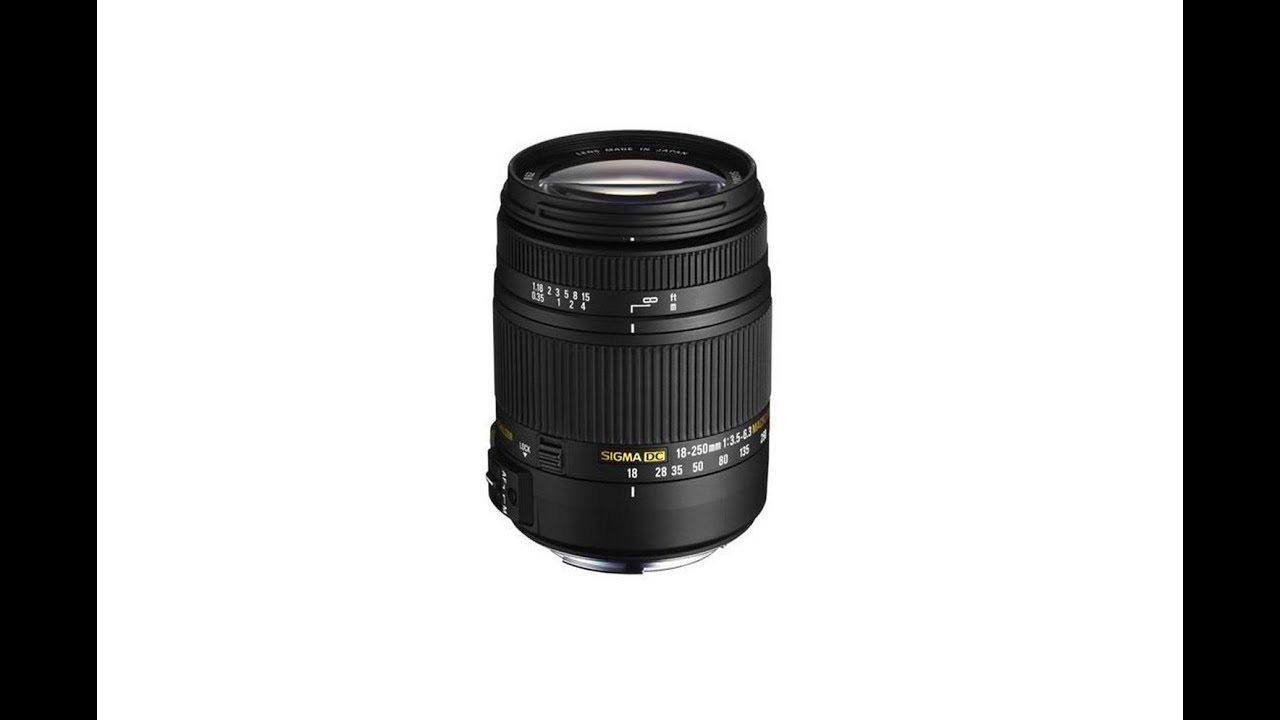 Great Travel Lens: Sigma 18-250 mm - YouTube