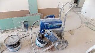 Механизированная шпаклевка стен и потолков, подготовка под покраску, поклейку обоев, выравнивание(механизированная шпаклевка, механизированная шпаклевка стен, механизированная шпаклевка цена, шпаклевка..., 2016-04-16T18:23:54.000Z)