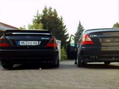 mercedes benz c klasse w202 tuning partl2 youtube. Black Bedroom Furniture Sets. Home Design Ideas