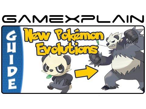 Pokémon X & Y - New Pokémon Evolution Guide & Walkthrough