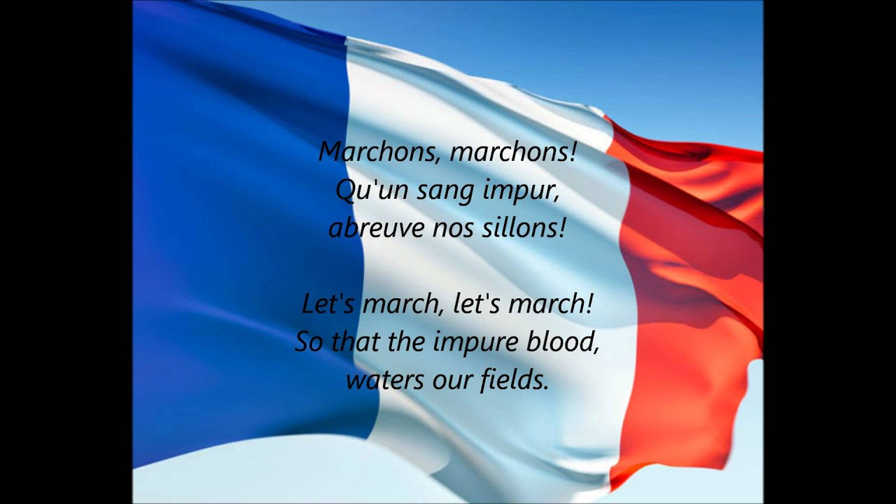 french national anthem