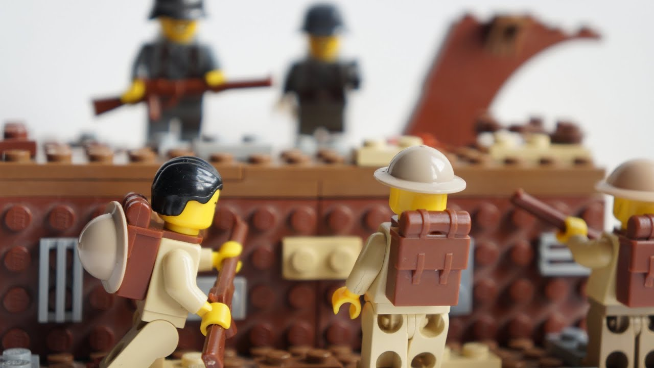 LEGO WW1 - THE BATTLE OF SOMME | MOC