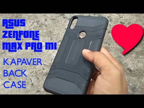super popular 1b9c7 25523 Kapaver Rugged Slim Armor Case For Asus Zenfone Max Pro M1 Unboxing and  Review