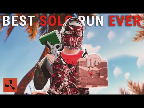 Rust - My BEST SOLO RUN Ever (Rust Solo Survival)