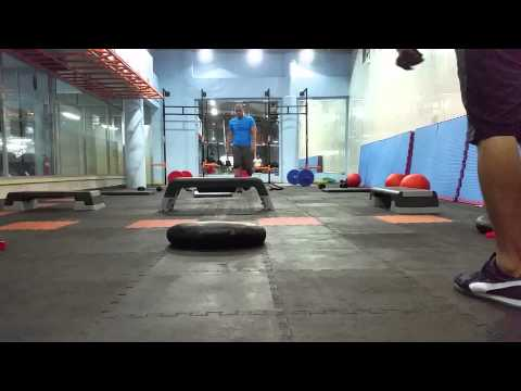 Circuit Training at Challenge Health Club