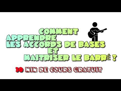 COMMENT APPRENDRE LES ACCORDS DE BASES ET MAITRISER LE BARRÉ ?