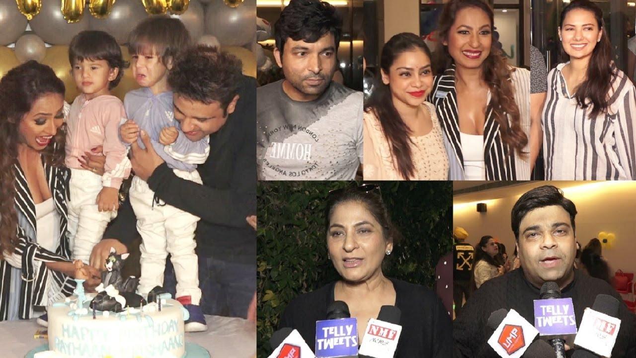 The Kapil Sharma Show Season 2 Cast With Family At Krushna Abhishek Sons  Birthday 2019