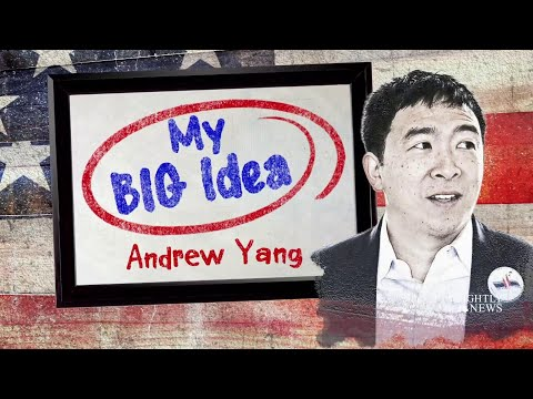 Andrew Yang Shares His Big Idea For Universal Basic Income | NBC Nightly News