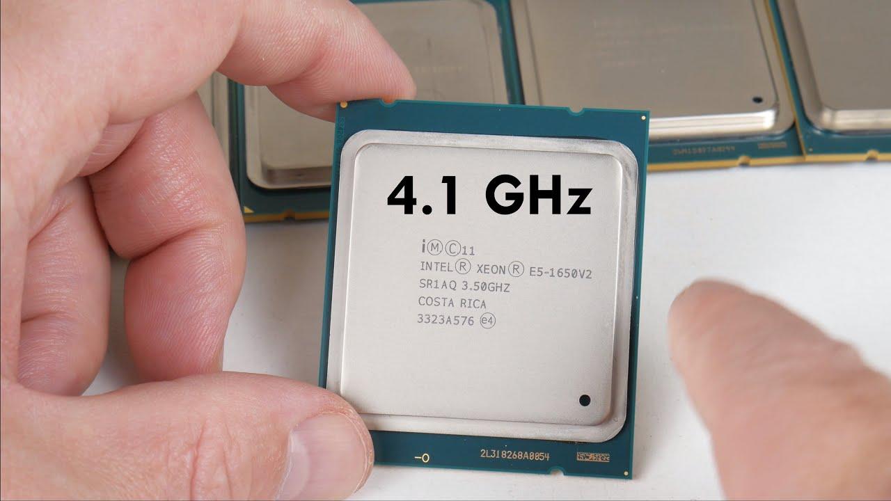 Overclock Xeon E5 V2