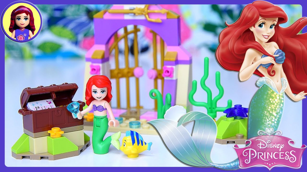 Ariels Amazing Treasures Lego Disney Princess Build Review Play