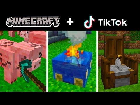 Minecraft Tik Tok Compilation 11