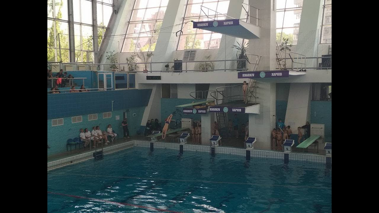 Прыжки в воду. Чемпионат Украины (U-9)