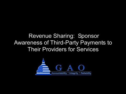 GAO: How Revenue Sharing Can Work, and Its Potential Impact on Participants' Account Balances