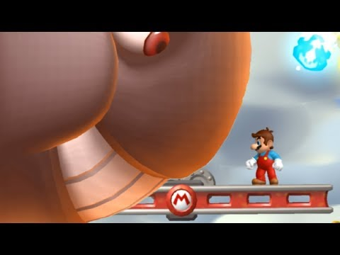 Another Super Mario Bros Wii Walkthrough - Part 7 - World 7