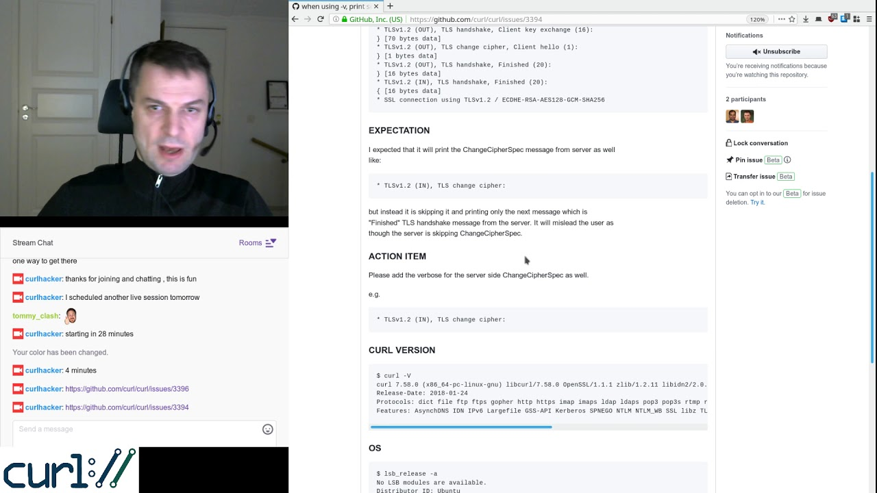 curl development with Daniel #4 - YouTube