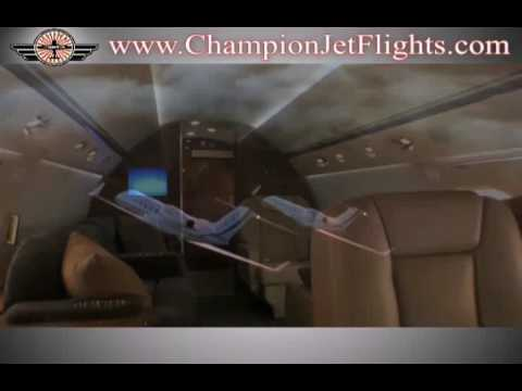 Charter a Private Flight - Champion Jets - Aircraft Charters